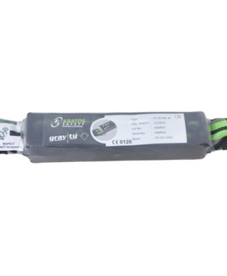 Energy absorber in 44 mm wide webbing