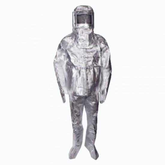 لباس آلومینیومی عبور از آتش