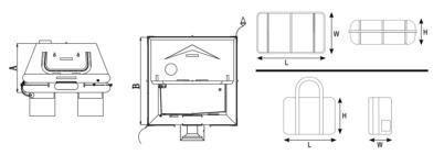 بین المللی Liferaft ISO-RAFT ، ISO 9650-1